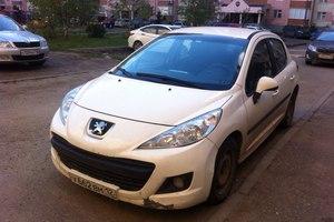 Подержанный автомобиль Peugeot 207, хорошее состояние, 2009 года выпуска, цена 255 000 руб., Казань