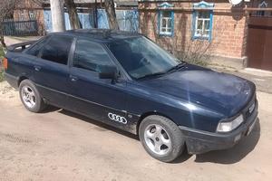 Автомобиль Audi 80, хорошее состояние, 1989 года выпуска, цена 80 000 руб., Самара