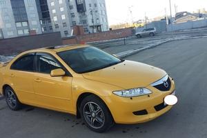 Подержанный автомобиль Mazda 6, хорошее состояние, 2004 года выпуска, цена 300 000 руб., Челябинск