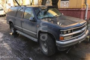 Подержанный автомобиль Chevrolet Suburban, отличное состояние, 1999 года выпуска, цена 350 000 руб., Москва