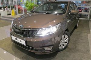 Новый автомобиль Kia Rio, 2017 года выпуска, цена 740 900 руб., Московская область