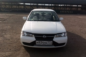 Автомобиль Nissan Sunny, хорошее состояние, 2003 года выпуска, цена 190 000 руб., Челябинская область