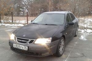 Автомобиль Saab 9-3, среднее состояние, 2003 года выпуска, цена 260 000 руб., Нововоронеж