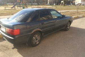Автомобиль Audi 80, среднее состояние, 1991 года выпуска, цена 90 000 руб., Раменское