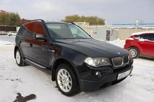 Подержанный автомобиль BMW X3, отличное состояние, 2008 года выпуска, цена 800 000 руб., Челябинск