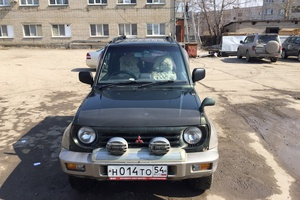 Автомобиль Mitsubishi Pajero Junior, хорошее состояние, 1995 года выпуска, цена 189 000 руб., Бердск