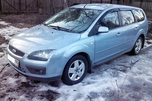 Подержанный автомобиль Ford Focus, хорошее состояние, 2006 года выпуска, цена 275 000 руб., Жуковский