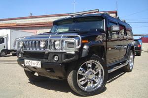 Автомобиль Hummer H2, отличное состояние, 2004 года выпуска, цена 1 350 000 руб., Чебоксары
