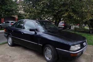 Автомобиль Audi 90, среднее состояние, 1989 года выпуска, цена 130 000 руб., Анапа
