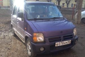 Автомобиль Suzuki Wagon R, хорошее состояние, 1998 года выпуска, цена 89 000 руб., Воскресенск