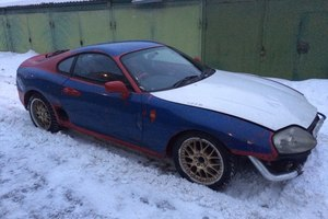 Автомобиль Toyota Supra, хорошее состояние, 1993 года выпуска, цена 600 000 руб., Москва