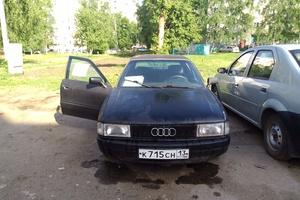 Автомобиль Audi 80, отличное состояние, 1987 года выпуска, цена 70 000 руб., Ульяновск