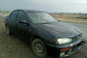 Автомобиль Mazda Familia, среднее состояние, 1994 года выпуска, цена 80 000 руб., Боготол