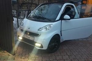 Подержанный автомобиль Smart Fortwo, отличное состояние, 2014 года выпуска, цена 500 000 руб., Видное