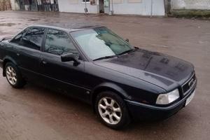 Автомобиль Audi 80, среднее состояние, 1995 года выпуска, цена 90 000 руб., Санкт-Петербург
