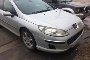 Автомобиль Peugeot 407, среднее состояние, 2004 года выпуска, цена 280 000 руб., Сургут