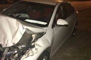 Автомобиль Chevrolet Cruze, битый состояние, 2014 года выпуска, цена 330 000 руб., Дмитров