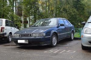 Автомобиль Saab 9000, хорошее состояние, 1996 года выпуска, цена 140 000 руб., Москва