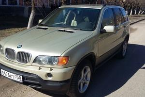 Автомобиль BMW X5, отличное состояние, 2000 года выпуска, цена 495 000 руб., Электросталь