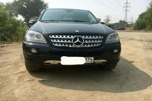 Автомобиль Mercedes-Benz M-Класс, отличное состояние, 2007 года выпуска, цена 975 000 руб., Челябинск