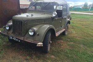 Автомобиль ГАЗ 69, среднее состояние, 1968 года выпуска, цена 154 000 руб., Бузулук