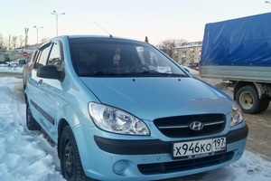 Подержанный автомобиль Hyundai Getz, хорошее состояние, 2010 года выпуска, цена 250 000 руб., Сергиев Посад