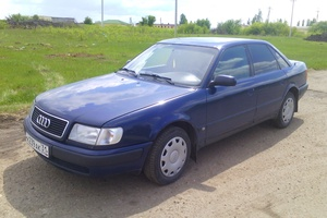 Автомобиль Audi 100, отличное состояние, 1991 года выпуска, цена 115 000 руб., Строитель