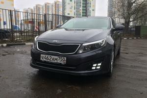 Подержанный автомобиль Kia Optima, отличное состояние, 2014 года выпуска, цена 1 200 000 руб., Мытищи
