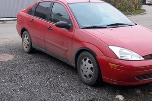 Подержанный автомобиль Ford Focus, хорошее состояние, 2001 года выпуска, цена 130 000 руб., Чехов