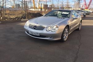 Автомобиль Mercedes-Benz SL-Класс, отличное состояние, 2002 года выпуска, цена 850 000 руб., Москва