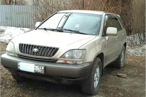 Автомобиль Toyota Harrier, хорошее состояние, 1998 года выпуска, цена 450 000 руб., Владимир