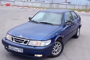 Автомобиль Saab 9-3, среднее состояние, 1998 года выпуска, цена 110 000 руб., Санкт-Петербург