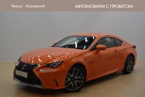 Авто Lexus RC, 2015 года выпуска, цена 3 000 000 руб., Москва