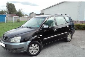 Автомобиль Kia X-Trek, хорошее состояние, 2003 года выпуска, цена 200 000 руб., Липецк