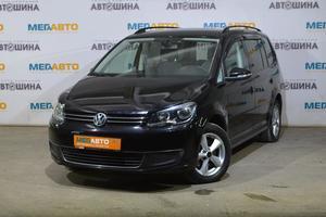 Авто Volkswagen Touran, 2010 года выпуска, цена 579 000 руб., Калуга