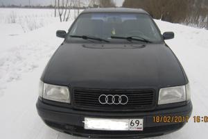 Автомобиль Audi 100, хорошее состояние, 1991 года выпуска, цена 105 000 руб., Тверь
