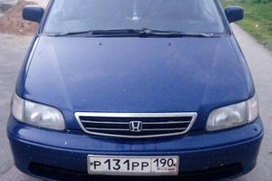 Подержанный автомобиль Honda Odyssey, среднее состояние, 1997 года выпуска, цена 160 000 руб., Волоколамск