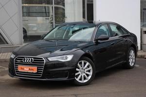 Подержанный автомобиль Audi A6, отличное состояние, 2016 года выпуска, цена 2 190 000 руб., Санкт-Петербург