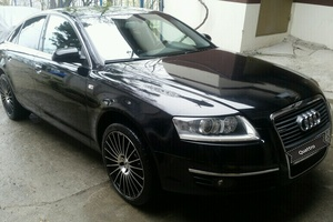 Подержанный автомобиль Audi A6, хорошее состояние, 2007 года выпуска, цена 720 000 руб., Сочи