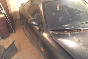 Автомобиль Mazda MX-6, битый состояние, 1992 года выпуска, цена 90 000 руб., Воронеж