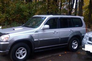 Автомобиль Hyundai Terracan, отличное состояние, 2001 года выпуска, цена 350 000 руб., Ивантеевка