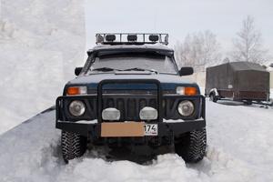 Подержанный автомобиль ВАЗ (Lada) 4x4, хорошее состояние, 2012 года выпуска, цена 320 000 руб., Челябинск