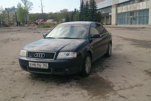 Подержанный автомобиль Audi A6, хорошее состояние, 2002 года выпуска, цена 289 000 руб., Псков