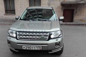 Автомобиль Land Rover Freelander, отличное состояние, 2014 года выпуска, цена 1 530 000 руб., Санкт-Петербург