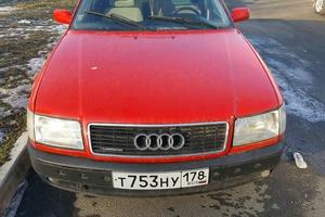 Подержанный автомобиль Audi 100, хорошее состояние, 1992 года выпуска, цена 140 000 руб., Санкт-Петербург