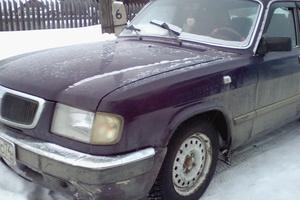 Подержанный автомобиль ГАЗ 3110 Волга, хорошее состояние, 2001 года выпуска, цена 55 000 руб., Челябинск