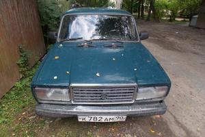 Подержанный автомобиль ВАЗ (Lada) 2107, среднее состояние, 2001 года выпуска, цена 30 000 руб., Истра