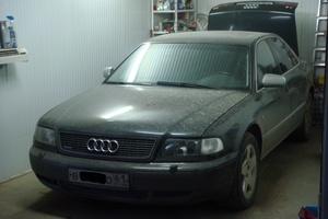 Подержанный автомобиль Audi A8, хорошее состояние, 1997 года выпуска, цена 300 000 руб., Ростов-на-Дону
