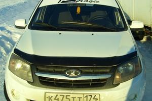 Подержанный автомобиль ВАЗ (Lada) Granta, отличное состояние, 2013 года выпуска, цена 265 000 руб., Челябинск