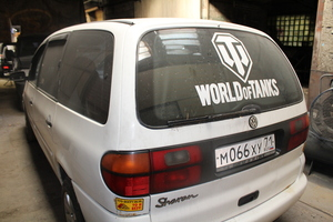Автомобиль Volkswagen Sharan, среднее состояние, 1997 года выпуска, цена 230 000 руб., Фрязино